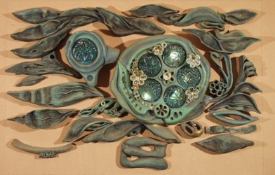 Декоративное керамическое панно